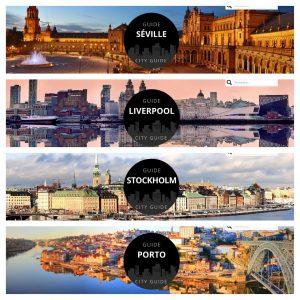 Nos nouveaux City Guides : Negocom Atlantique prend son envol Européen !